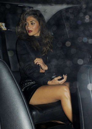 Nicole Scherzinger - Leaving Scotts Restaurant