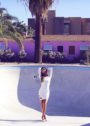 Nicole Scherzinger: Missguided Photoshoot 2014 -10