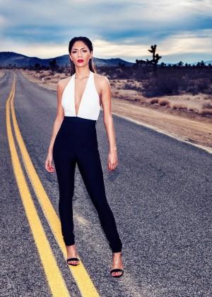 Nicole Scherzinger: Missguided Photoshoot 2014 -18