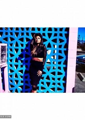 Nicole Scherzinger: Missguided Photoshoot 2014 -23