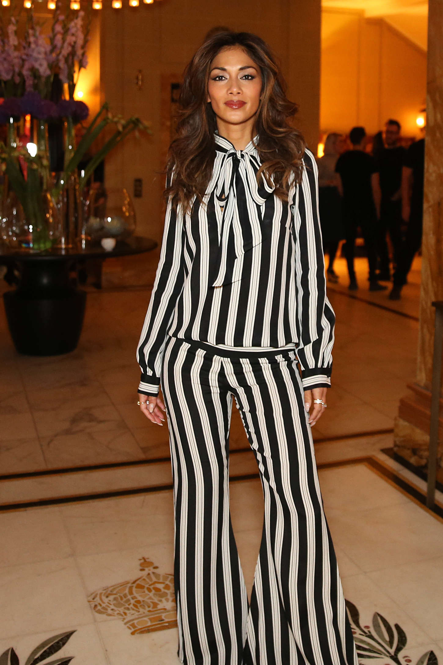 Nicole Scherzinger - Performs Live at the Cafe Royal Hotel in London