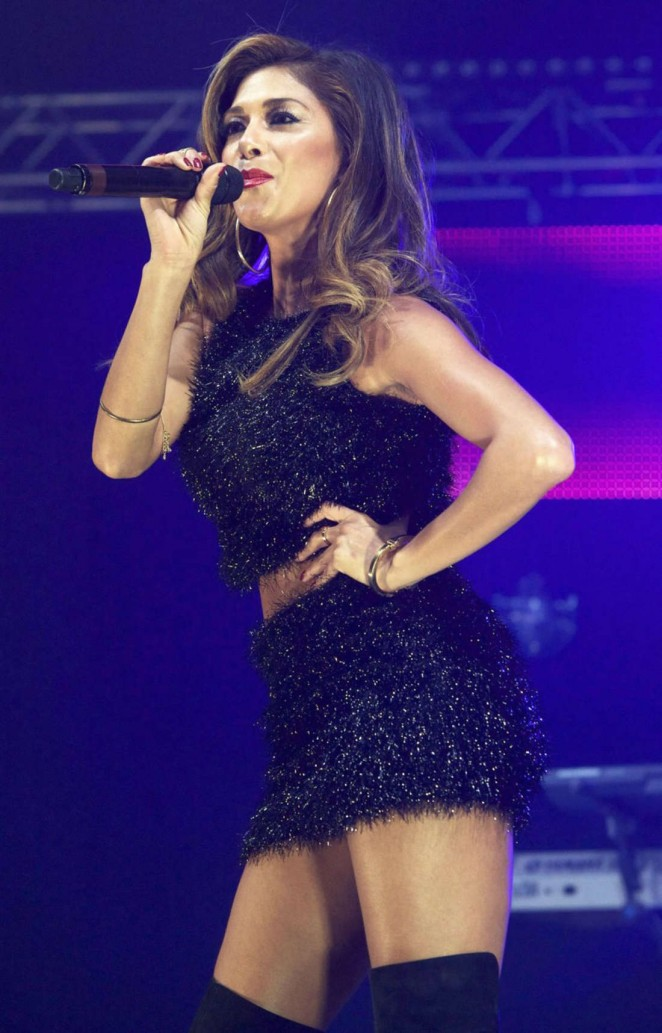 Nicole Scherzinger - Performs Live at the Metro Radio Live Christmas Show