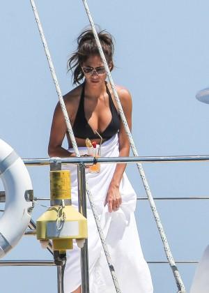 Nicole Scherzinger Bikini: 2014 in Monte Carlo -03