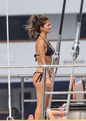 Nicole Scherzinger Bikini: 2014 in Monte Carlo -07