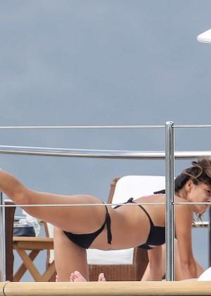 Nicole Scherzinger Bikini: 2014 in Monte Carlo -12