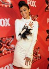 Nicole Scherzinger - Leggy in white Dress at X Factor Top 3 Performance Show in Hollywood-07