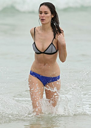 Nicole Trunfio Bikini Photos: 2014 in Sydney -16