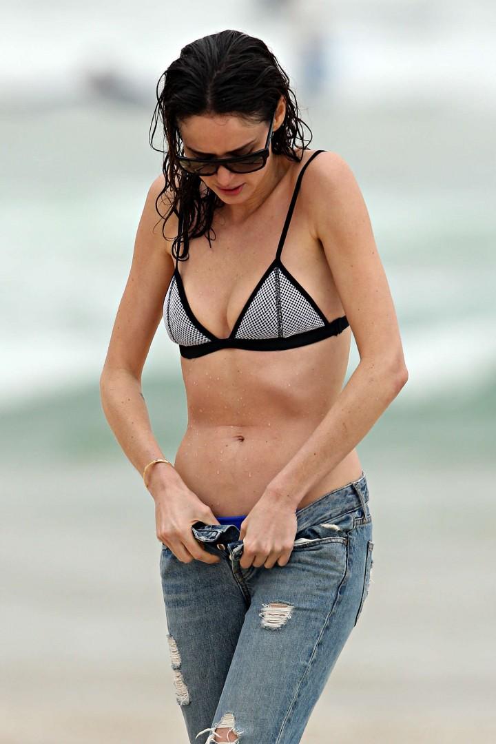 Nicole Trunfio Bikini Photos: 2014 in Sydney -17