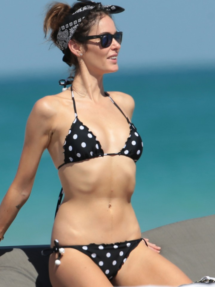Nicole Trunfio Bikini Photos: 2014 in Miami -01