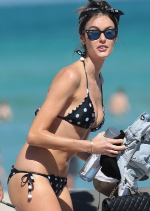Nicole Trunfio Bikini Photos: 2014 in Miami -03