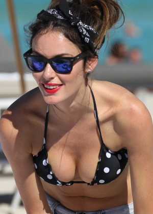 Nicole Trunfio Bikini Photos: 2014 in Miami -04