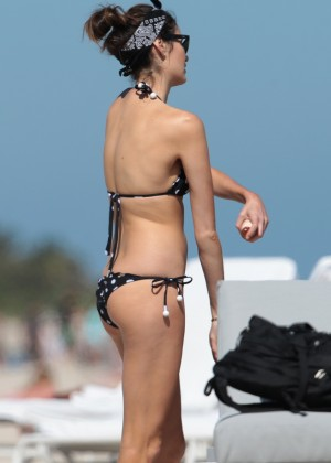 Nicole Trunfio Bikini Photos: 2014 in Miami -12