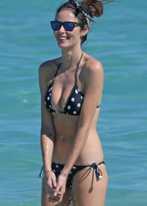 Nicole Trunfio Bikini Photos: 2014 in Miami -13