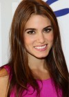 Nikki Reed In Hot Short Pink Dress-05