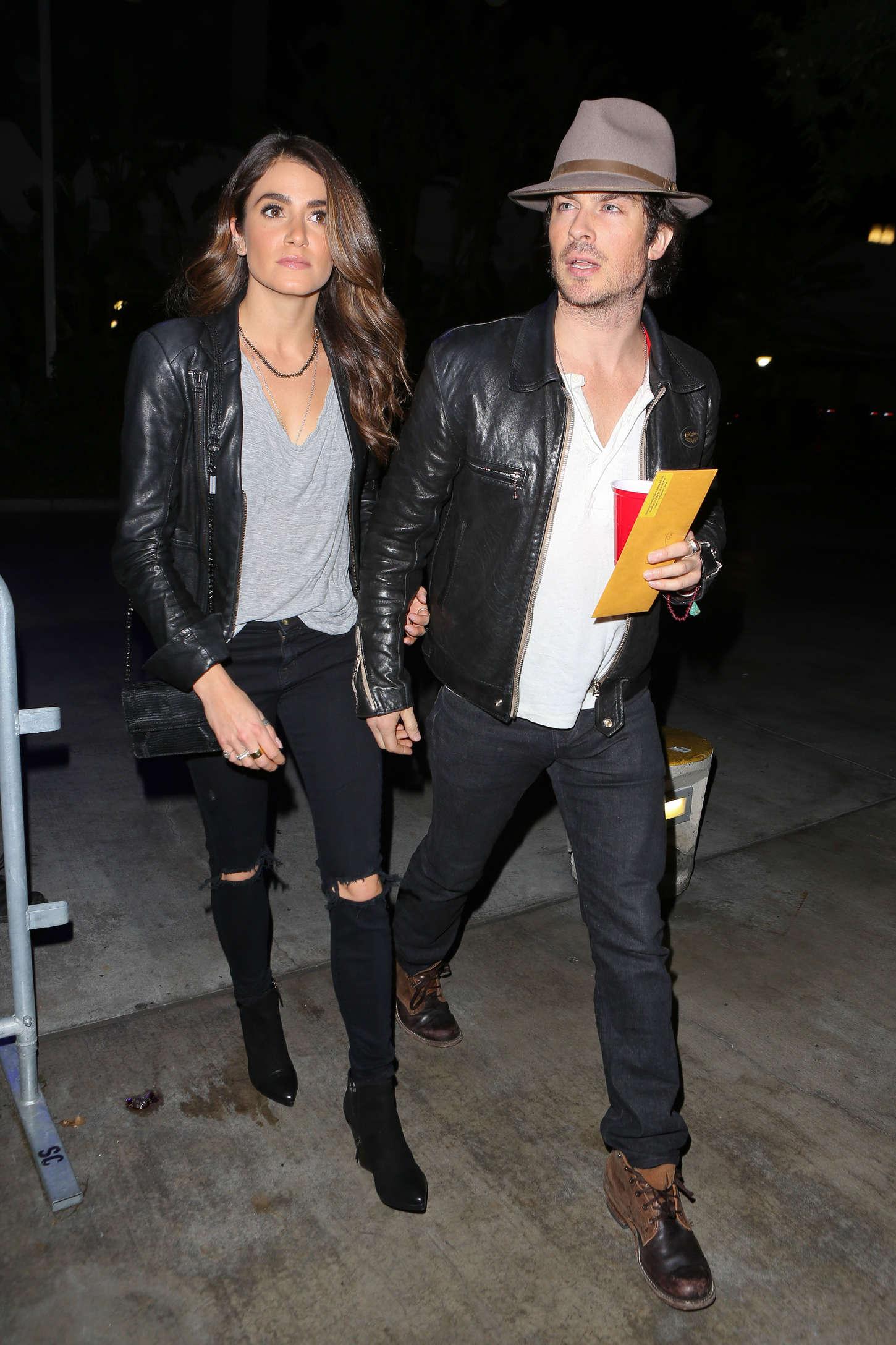 Nikki Reed 2014 : Nikki Reed and Ian Somerhalder at the Staples Center -11