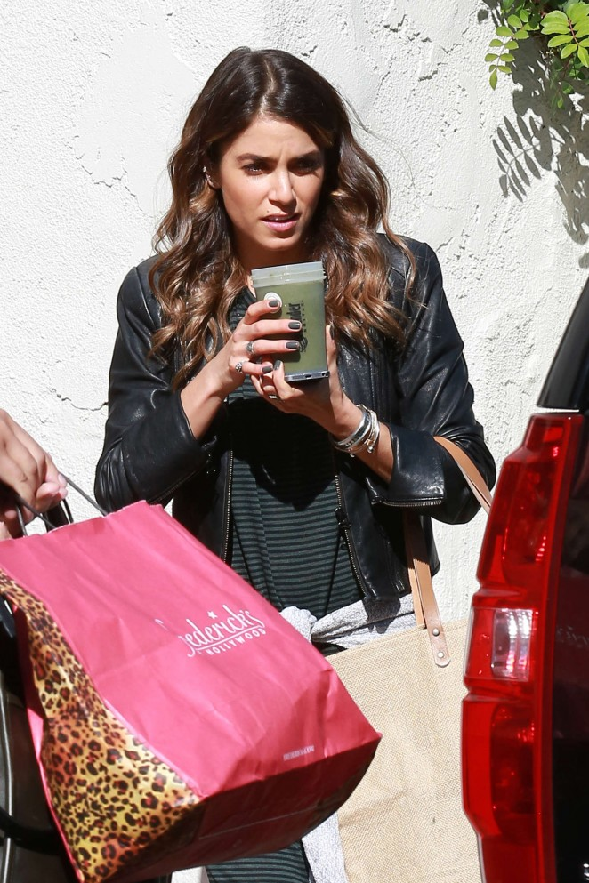 Nikki Reed out Shopping in LA