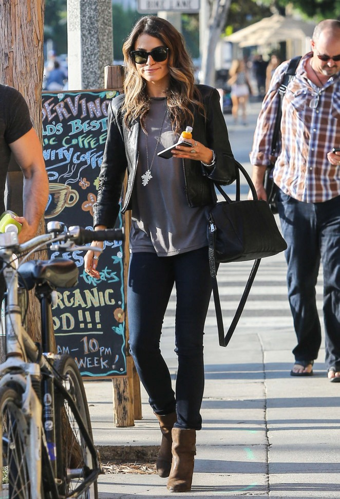 Nikki Reed out in Venice