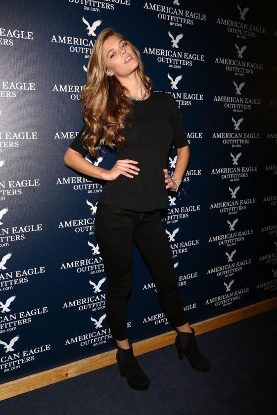 Nina Agdal at American Eagle Store Opening -32