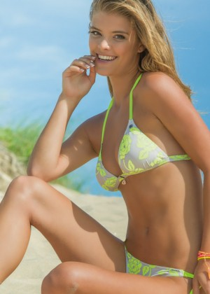 Nina Agdal: Banana Moon Bikini 2014 -08