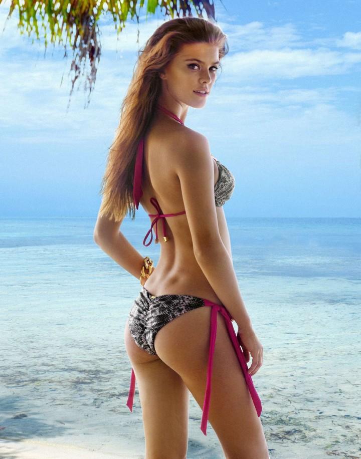 foto nina bikini: