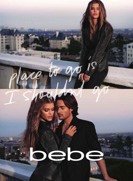 Nina Agdal: Bebe be9to5 Campaign -05