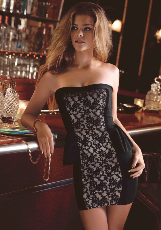 Nina Agdal: Bebe be9to5 Campaign -12