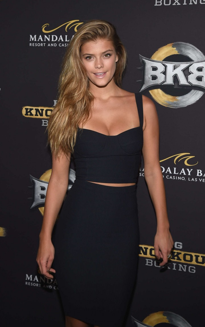 Nina Agdal - Big Knockout Boxing Inaugural Event in Vegas