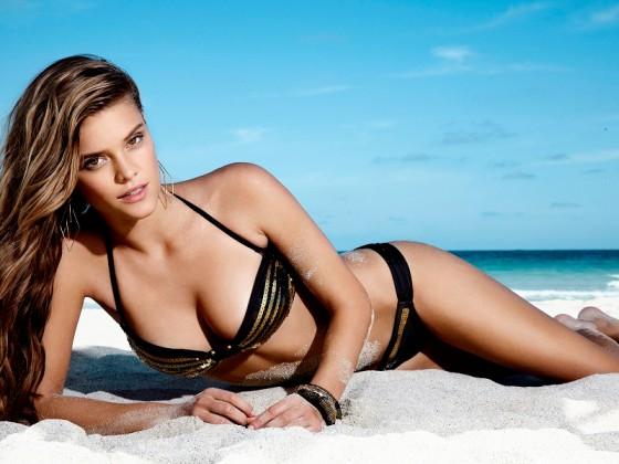 Nina Agdal – Penti Swimwear 2013-09