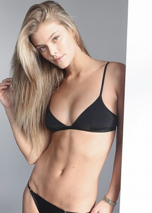 Nina Agdal: Black Bikini Polaroids Elite -04