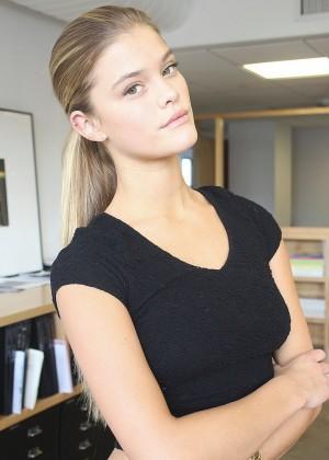 Nina Agdal: Black Bikini Polaroids Elite -07