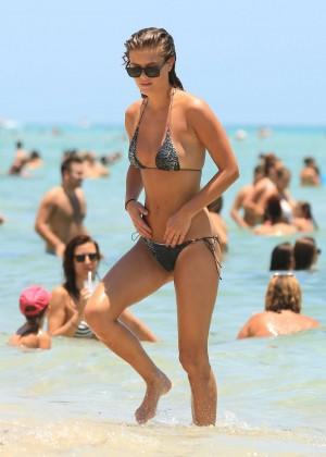Nina Agdal Bikini: Miami 2014 -01