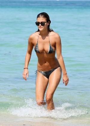 Nina Agdal Bikini: Miami 2014 -02