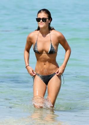 Nina Agdal Bikini: Miami 2014 -03