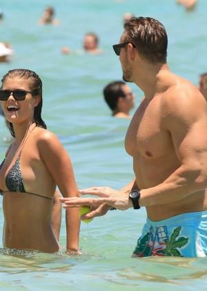 Nina Agdal Bikini: Miami 2014 -05