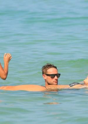 Nina Agdal Bikini: Miami 2014 -07