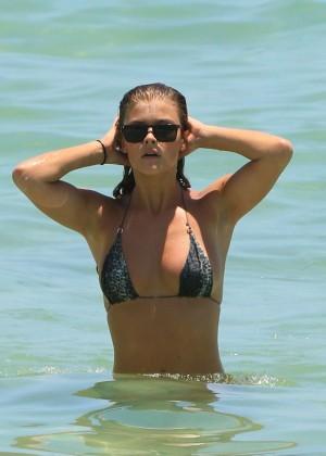 Nina Agdal Bikini: Miami 2014 -10