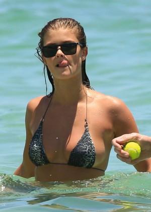 Nina Agdal Bikini: Miami 2014 -11