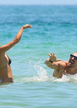 Nina Agdal Bikini: Miami 2014 -16