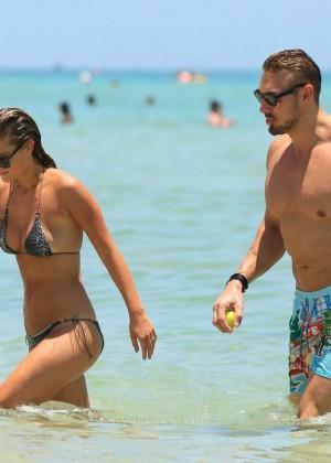 Nina Agdal Bikini: Miami 2014 -23