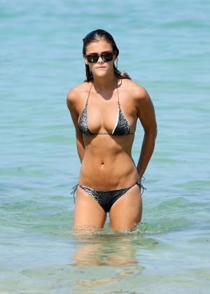 Nina Agdal Bikini: Miami 2014 -24