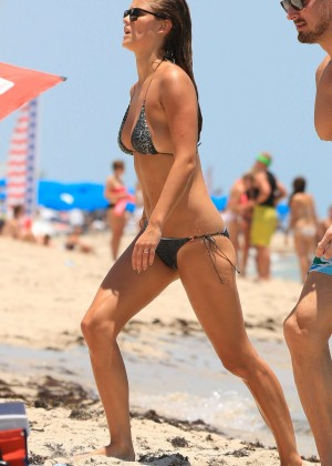 Nina Agdal Bikini: Miami 2014 -26