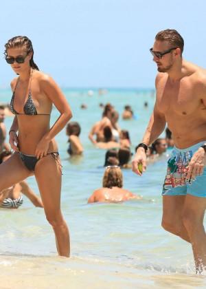 Nina Agdal Bikini: Miami 2014 -30