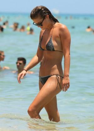 Nina Agdal Bikini: Miami 2014 -34
