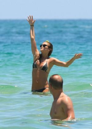 Nina Agdal Bikini: Miami 2014 -35