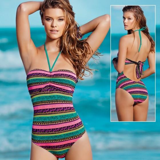 Nina Agdal – Leonisa Swimwear Collection 2013 -04