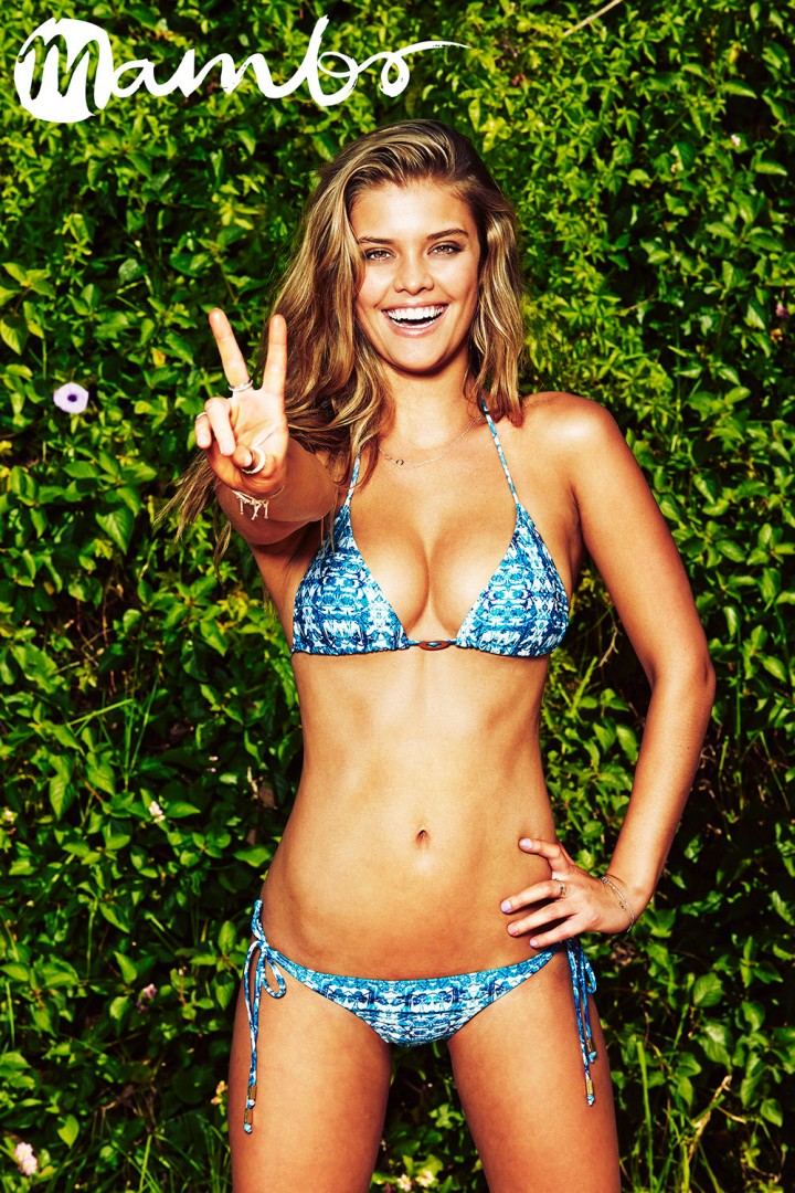 Nina Agdal - Mambo Swimwear Photoshoot (Summer 2014)