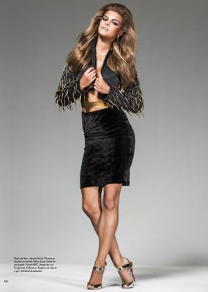 Nina Agdal - Marie Claire Latin America Magazine (October 2014)