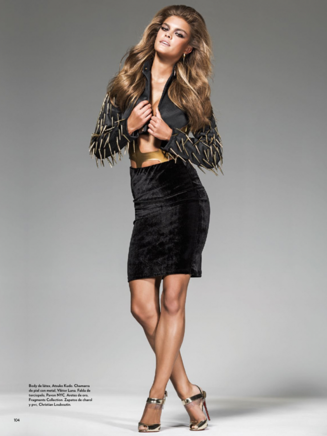 Nina Agdal - Marie Claire Latin America Magazine (October 2014)