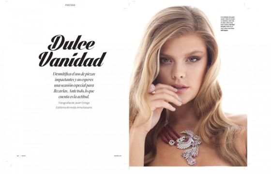 Nina Agdal: Revista MOIRE  – Winter 2013 -06