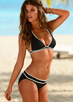 Nina Agdal - S Oliver Swimwear Photoshoot 2014